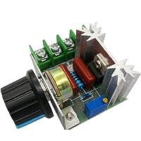 HiLetgo 2pcs 2000W AC Motor Speed Control Controller Adjustable Voltage Regulator 50-220V AC High Power Motor Governor…
