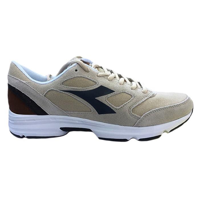 Laufschuhe Diadora Shape 7, aus Wildleder und Leinen, Artikel171466, - TIDAL FOAM/NINE IRON - Größe: 42 Diadora