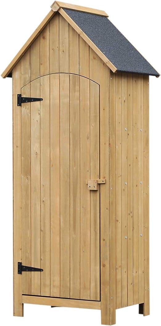 Gerätehaus Gartenschrank Geräteschuppen Geräteschrank Gartenhaus Holz Garten Neu