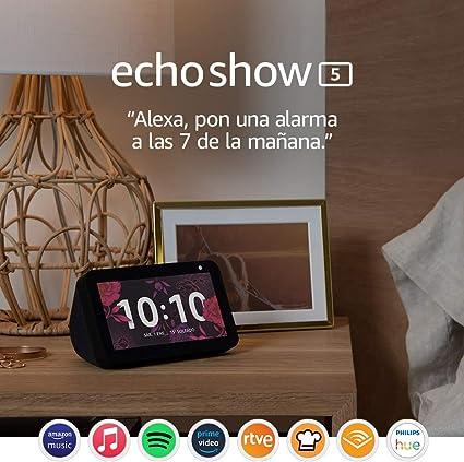 Echo Show 5: mantén el contacto con la ayuda de Alexa, negro: Amazon.es