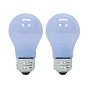 GE Lighting Reveal HD LED4-watt (40-watt Replacement), 270-Lumen A15 Light Bulb with Medium Base, 2-Pack