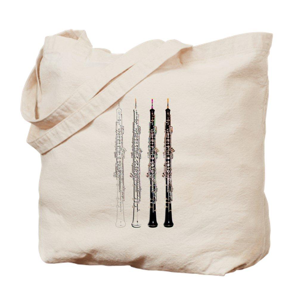 CafePress – Oboe – ナチュラルキャンバストートバッグ、布ショッピングバッグ M ベージュ 00280451736893C M  B073QV2HYR