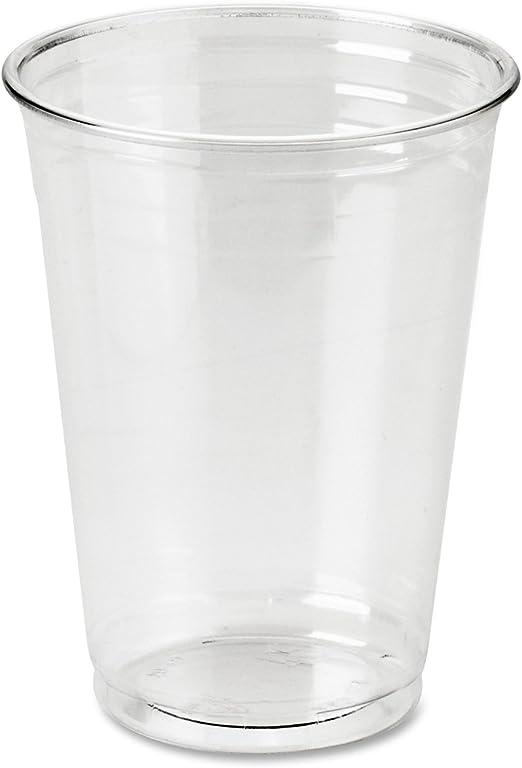 Vasos de plástico biodegradables, 255 ml, vajilla reciclable ...