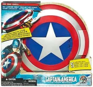 Hasbro Capitán América Escudo lanzador - Escudo lanzador de discos (alcence 6 m)