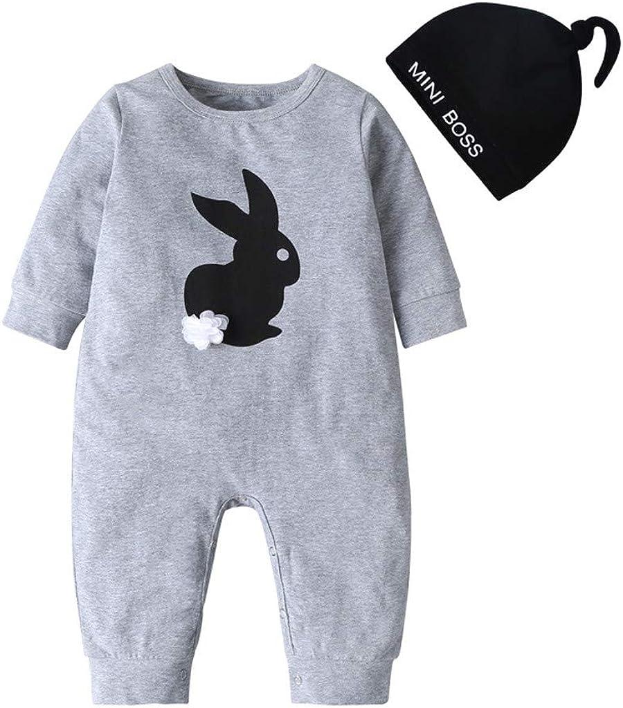 3-24 Mesi Tuta Pagliaccetto Coniglietto per Neonati e Bambine per Neonato Tutine Neonato Cotone Caldo-foshsh Pagliaccetti Neonata