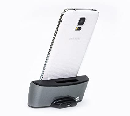 Mondpalast Negra Black Cargador Base Dock docking station +cable Para Samsung Galaxy S5 SM-G900