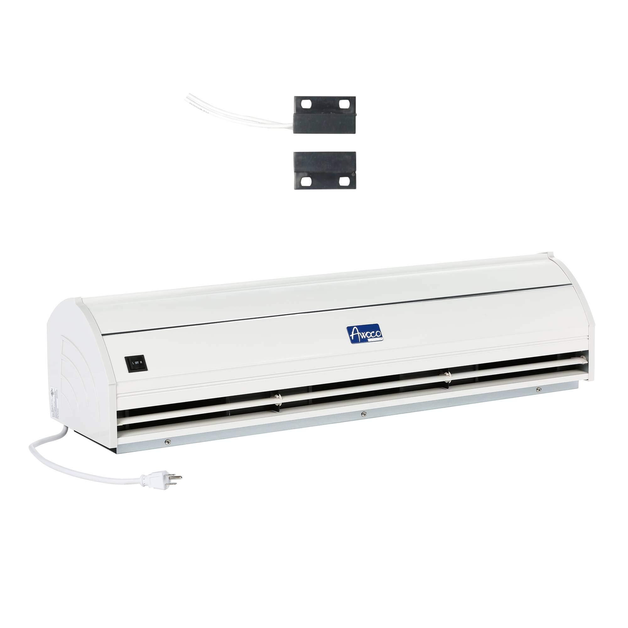 Awoco 36'' Elegant 2 Speeds 900 CFM Indoor Air Curtain with