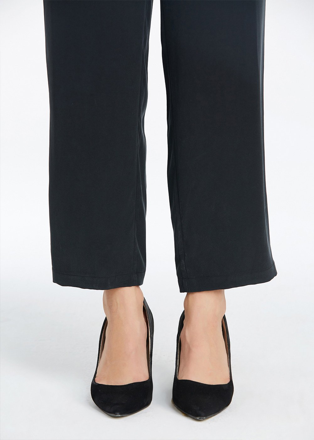 LILYSILK Silk Pants Women Pure Mulberry Real 23MM Casual Business Bottoms Soft Harem Style Black S/4-6 by LilySilk (Image #7)