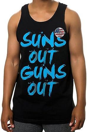 Suns Out Guns Out Tank Top Mens Sleeveless T-Shirt Tee