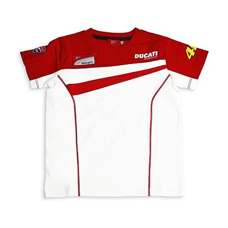 Ducati Corse MotoGP Valentino Rossi 46 rayas rojo y blanco ...