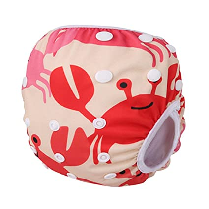 Pañales de natación impermeables y ajustables para bebé, para piscina, pañales de 10 –