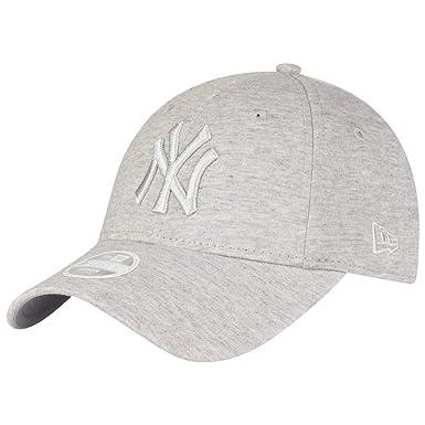 b20fa32371ed New Era WMNS MLB Jersey 9Forty Damen Adjustable Cap NY Yankees Hellgrau,  Size ONE