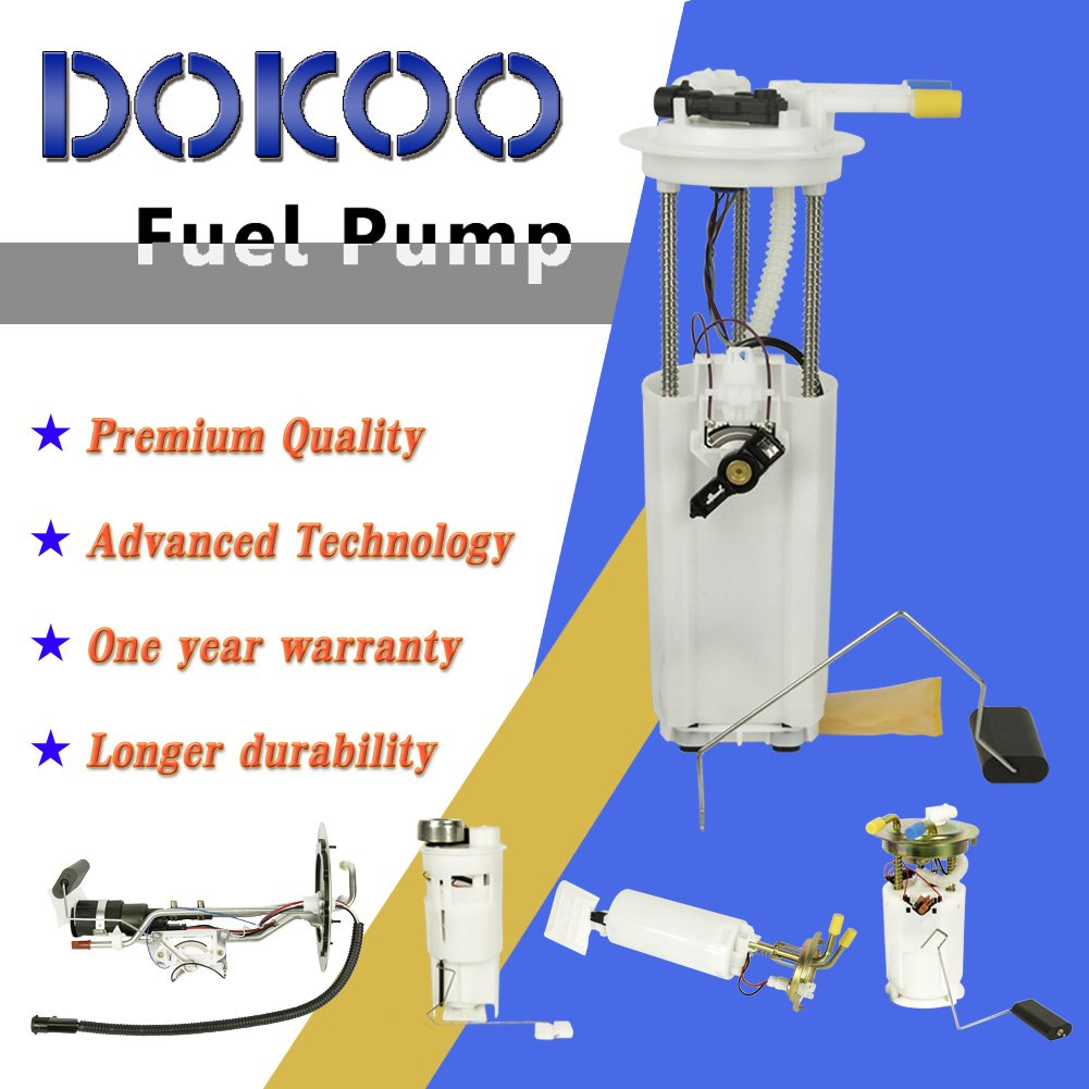 Doicoo Fuel Pump Replaces E3542m Module Assembly Fit For 94 Buick Century Filter Regal Chevy Impala Monte Carlo Oldsmobile Intrigue Pontiac Grand