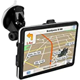"""GPS Navigator,7"""" Car GPS with Free Lifetime Maps,800x480 Touch Screen GPS Navigation Stereo System with 8GB Memory for Car,Advanced Lane Guidance and Spoken Turn-by-Turn Directions"""