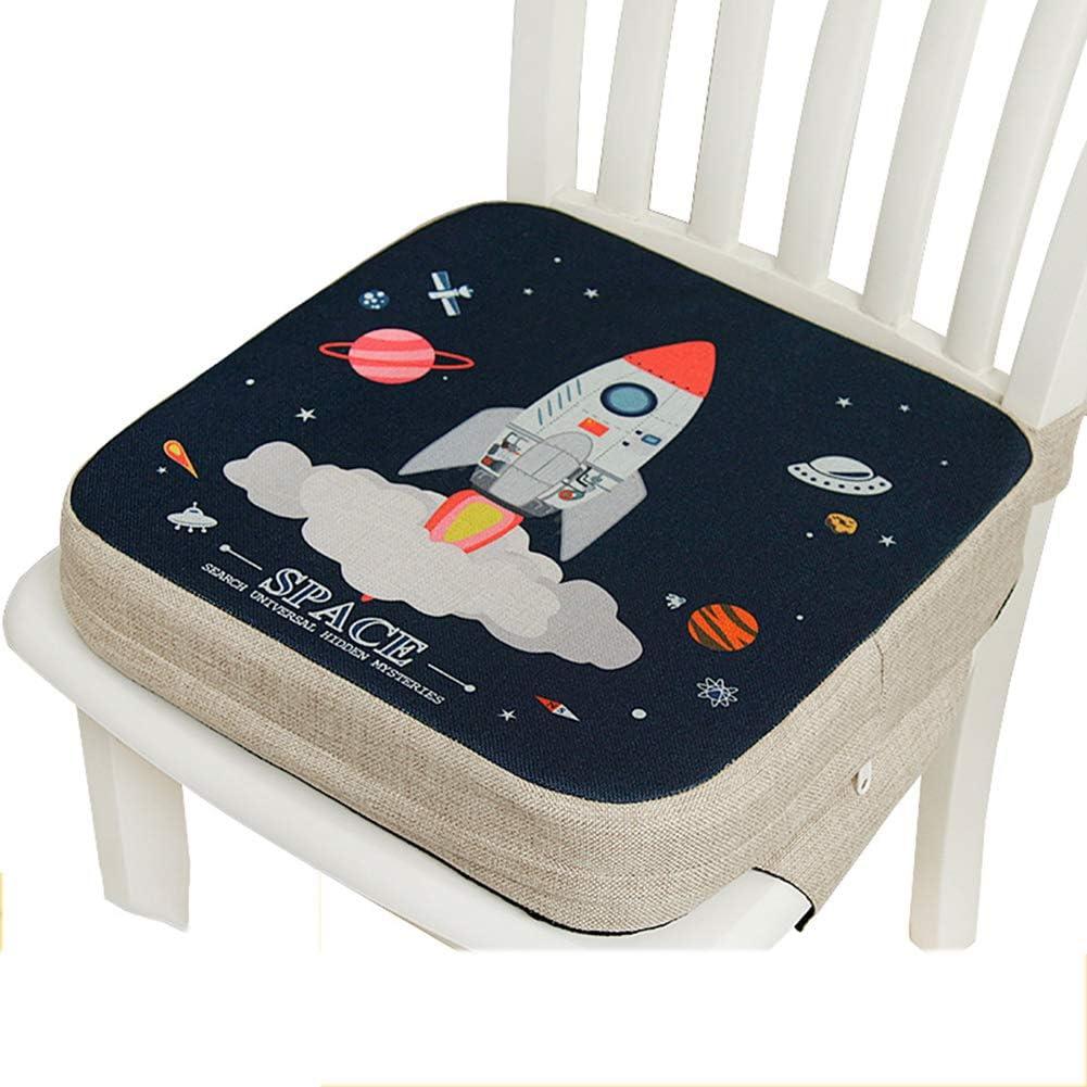 Si/ège rehausseur pour b/éb/é coussin de rehaussement pour coussin de rehaussement coussins antid/érapants et lavables pour chaise chaise haute