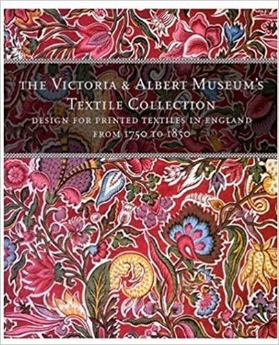 "Cover art for ""Designs for Printed Textiles in England From 1750 to 1850"" by Wendy Hefford"