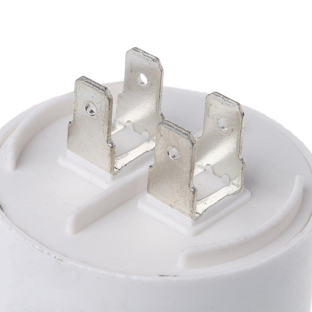 Condensateur de d/émarrage du compresseur conditionneur de moteur CBB60 AC450V 25UF 50 60Hz Bogji