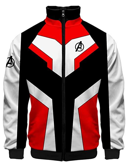 Amazon.com: Boys The Avengers Endgame Jacket 3D Printed Infinity war Hoodie Quantum Realm Gifts for Kids: Clothing