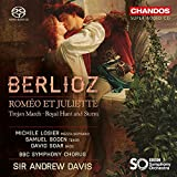 Berlioz:Romeo Et Juliette [Michele Losier; Samuel Boden; David Soar; BBC Symphony Chorus; BBC Symphony Orchestra ,Sir Andrew Davies ] [CHANDOS: CHSA 5169(2)]