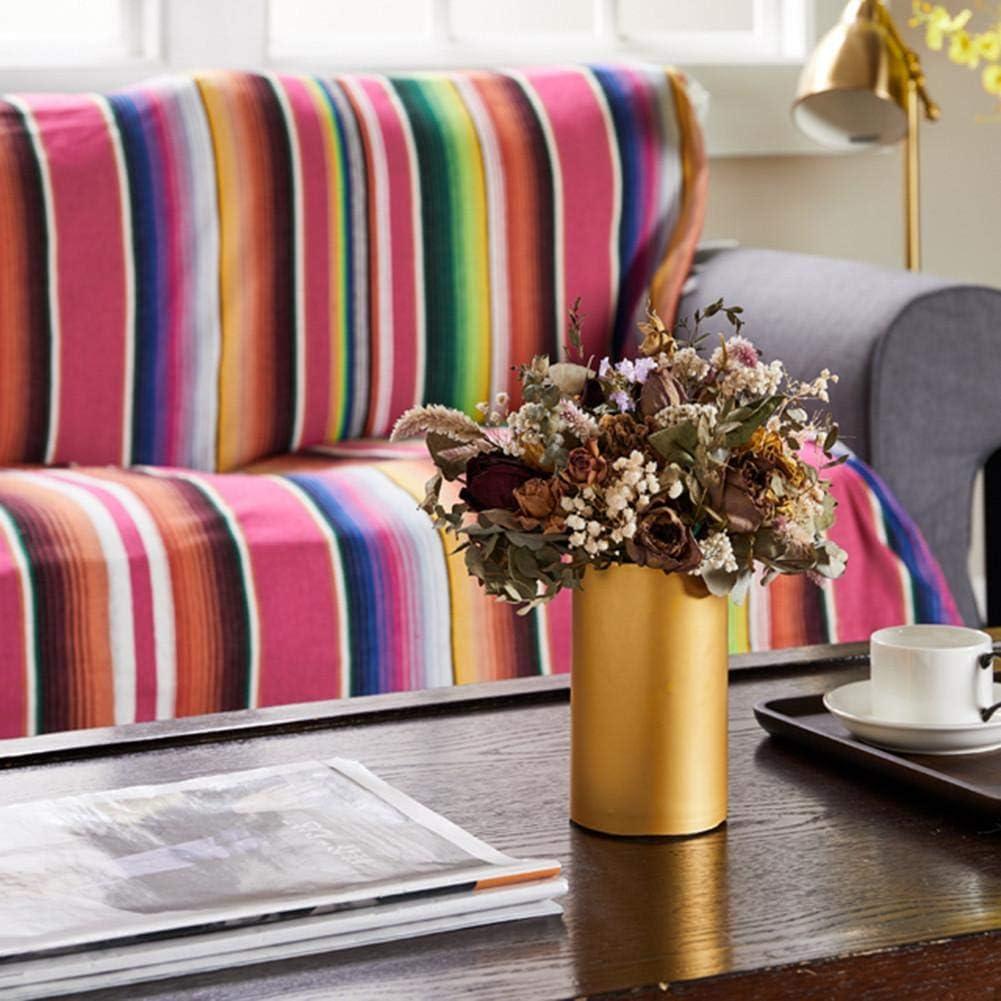 Coton 180-Purple bestlle Nappe /à Rayures mexicaines Couverture de lit Couverture dext/érieur Tapisserie Tapis de Pique-Nique pour d/écoration de f/ête de Mariage Mexicaine 120