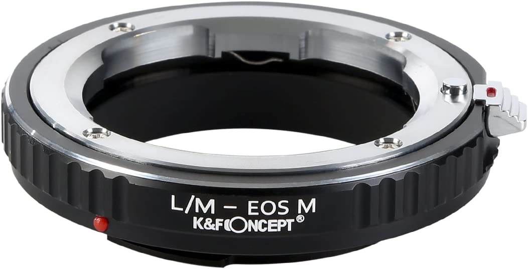 K/&F Concept Adapter for Canon EOS EF Mount Lens to Canon EOS M1 M2 M3 Camera