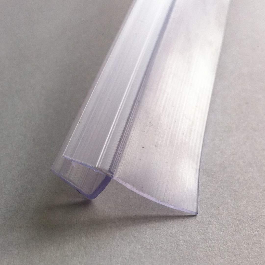 HNNHOME bain douche écran Joint de porte pour verre de 4–6mm jusqu'à 16mm Gap