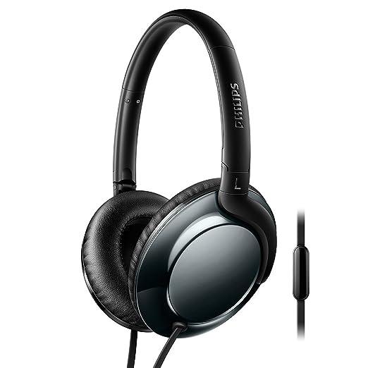 5 opinioni per Philips SHL4805DC Flite Everlite Cuffie Audio Compatte con Microfono, Design