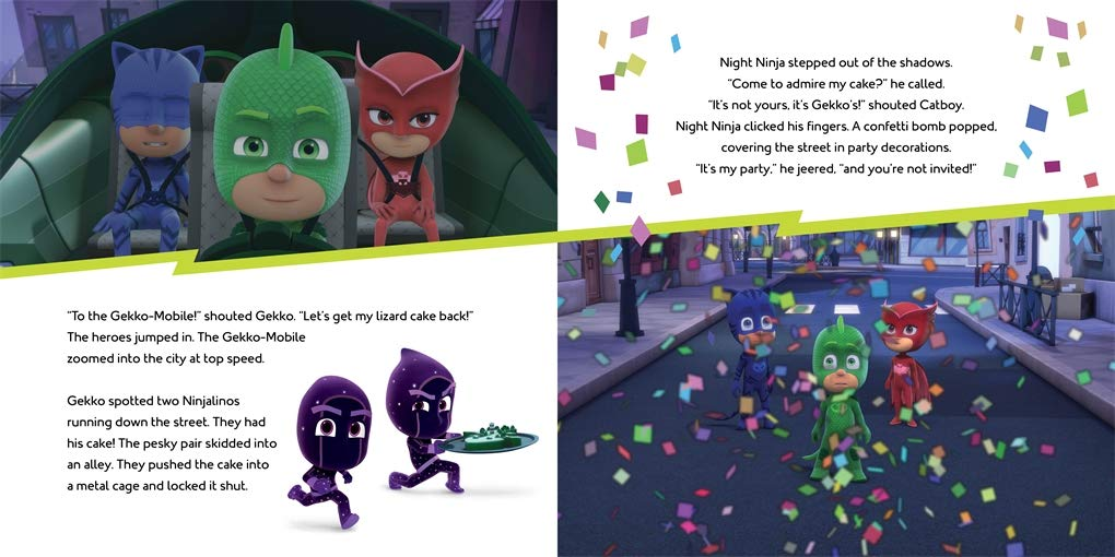 Big Birthday Cake Rescue: A PJ Masks picture book: Amazon.es: Pat-a-Cake, PJ Masks: Libros en idiomas extranjeros
