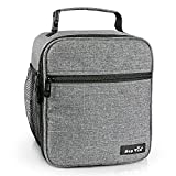Reusable Lunch Bag, Insulated Lunch Box for Men/Kids,Tough & Spacious Adults Cooler Bento
