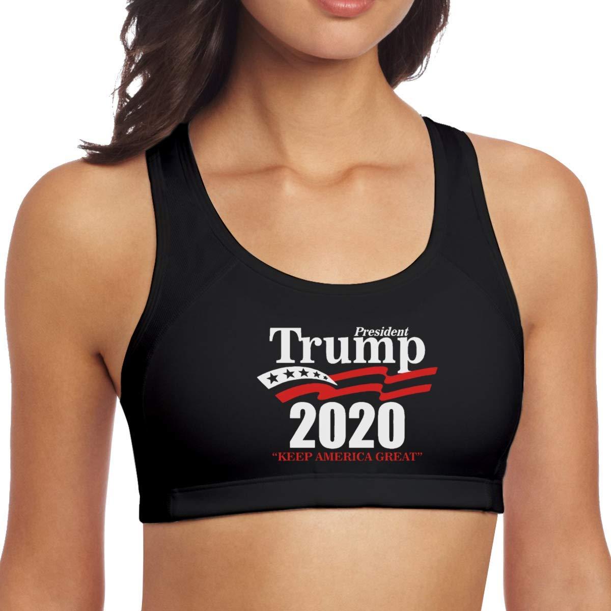 JAKE WYATT President Trump 2020 Keep America Great Yoga Vest Racerbacks