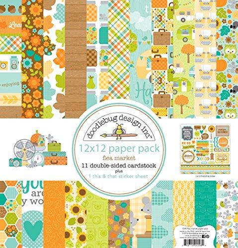 doodlebug-double-sided-paper-pack-12x12-flea-market