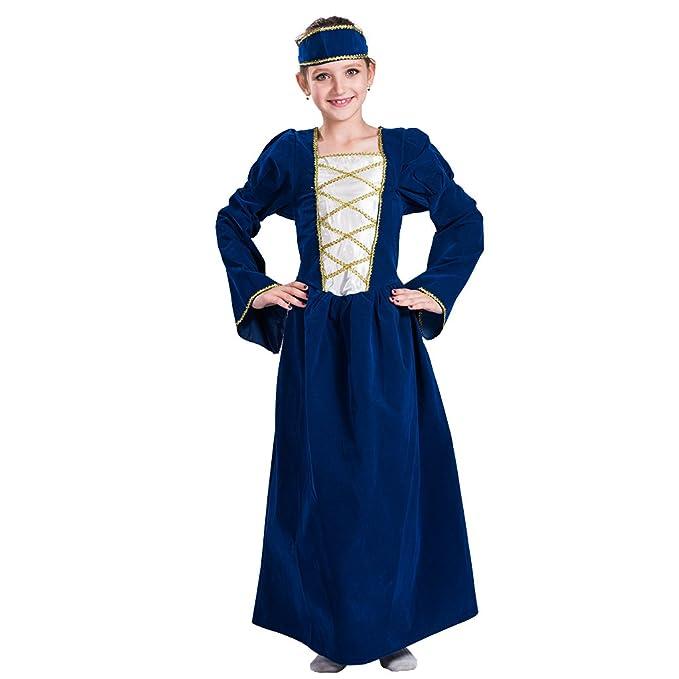 EraSpooky Chicas Tudor Disfraz Disfraz Medieval Princesa ...