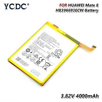 Amazon.com: YCDC HB396693ECW - Batería para Huawei Mate 8 ...