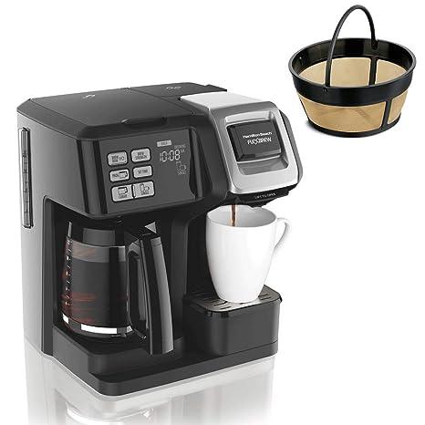 Amazon.com: Hamilton FlexBrew - Cafetera y filtro permanente ...