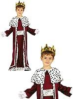 Costume re magio bambino Gaspare 5-6 anni