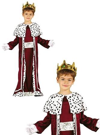 Disfraz de Rey Gaspar infantil 3-4 años: Amazon.es: Juguetes y juegos
