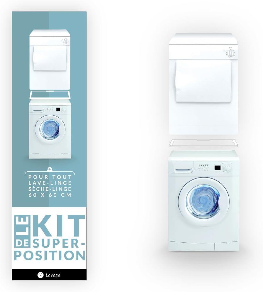 Whirlpool - Kit de superposición simple para lavadora y secadora ...
