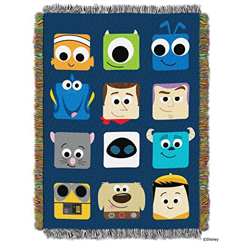 Pixar Pixarland Woven Tapestry Throw product image