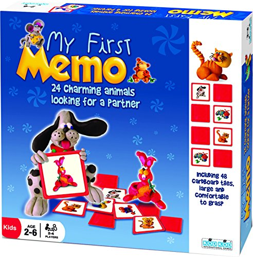 MY FIRST MEMO 24 Animal Matching Memory Game by Kod Kod (First Game Memory)