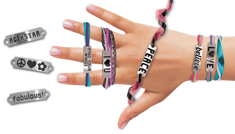 Fashion Angels ID Wrap Bracelet Craft Kit Fashion Angels Enterprises 11849