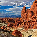 Nevada Wild & Scenic 2020 12 x 12 Inch Monthly Square Wall Calendar, USA United States of America Rocky Mountain State Nature