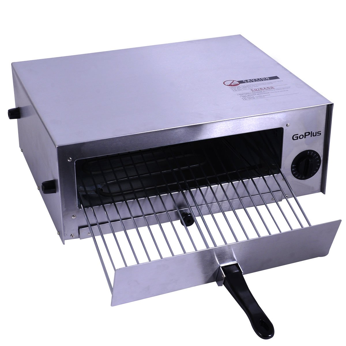Amazon.com: Kitchen Commercial Pizza Oven Stainless Steel Counter ...