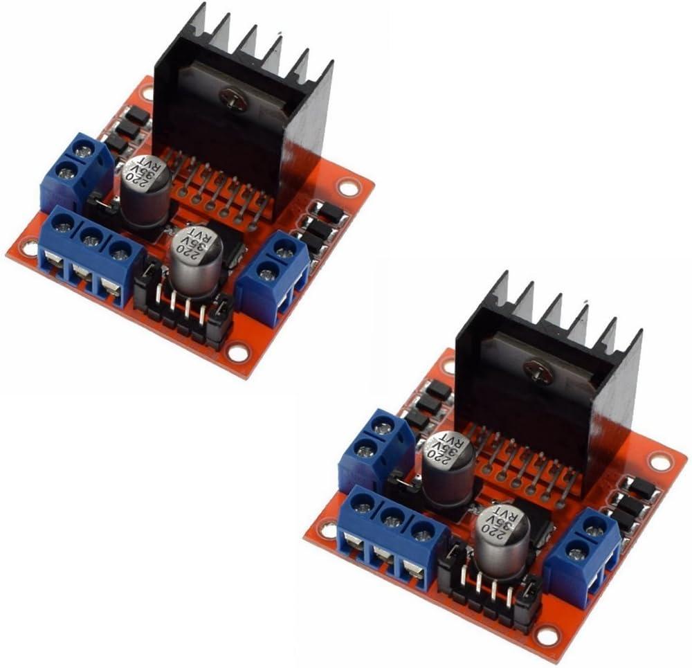 2pcs Stepper Motor Drive Controller Board Module L298N Dual H Bridge Arduino New