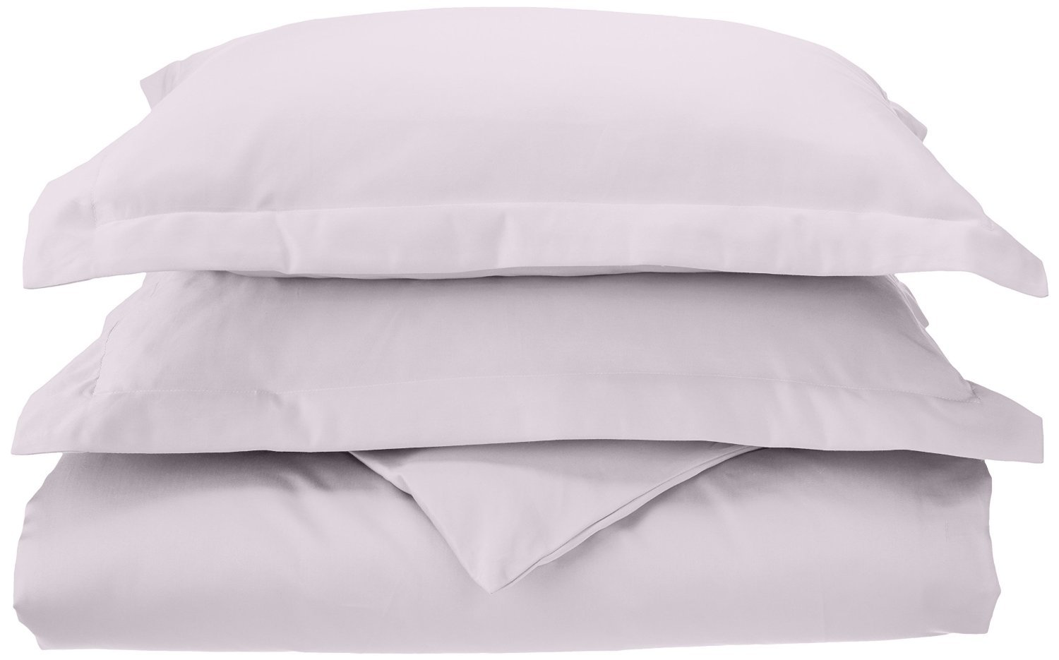 Superior 1000 Thread Count 100% Cotton, Single Ply, 3-Piece Full/Queen Duvet Cover Set, Solid, Charcoal C1000FQDC SLCL