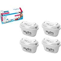 Boston Tech 4 Cartuchos Hydro Pure+, filtros de Agua compatibles con Jarras Brita Maxtra y Maxtra+, Efecto Prolongado (8…