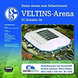 """FC Schalke 04 Stadion Arena """"Veltins Arena"""" Stadionbausatz zum Selberbauen Fanartikel/Geschenk"""