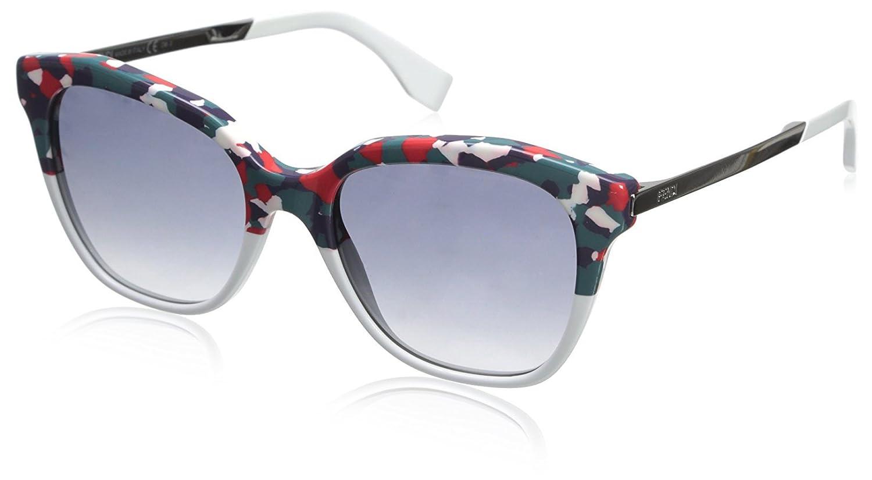 Fendi FF 0089/S Dg Gafas de Sol, Hvnredwht, 52 para Mujer ...