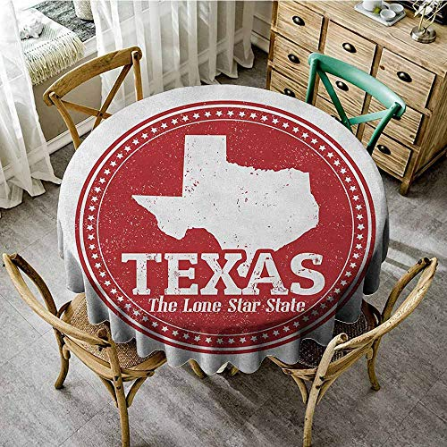Rank-T Outdoor Round Tablecloth 63