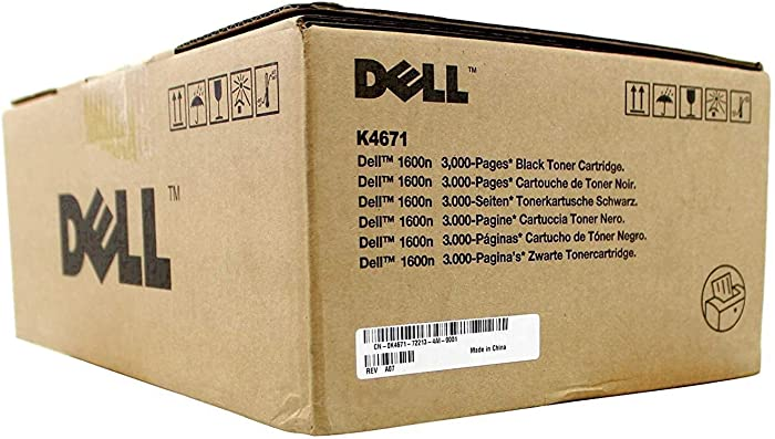 Dell K4671 Black Toner Cartridge 1600n Laser Printer