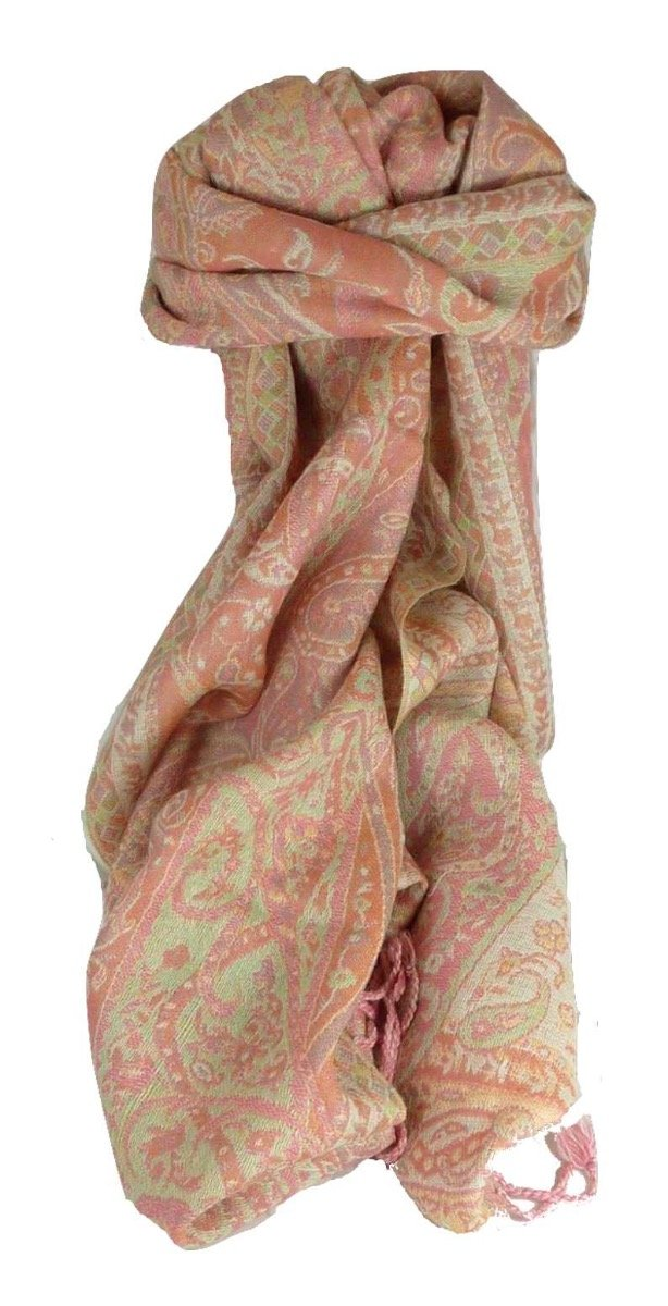 Muffler Scarf 3753 in Fine Pashmina Wool from the Heritage Range by Pashmina & Silk